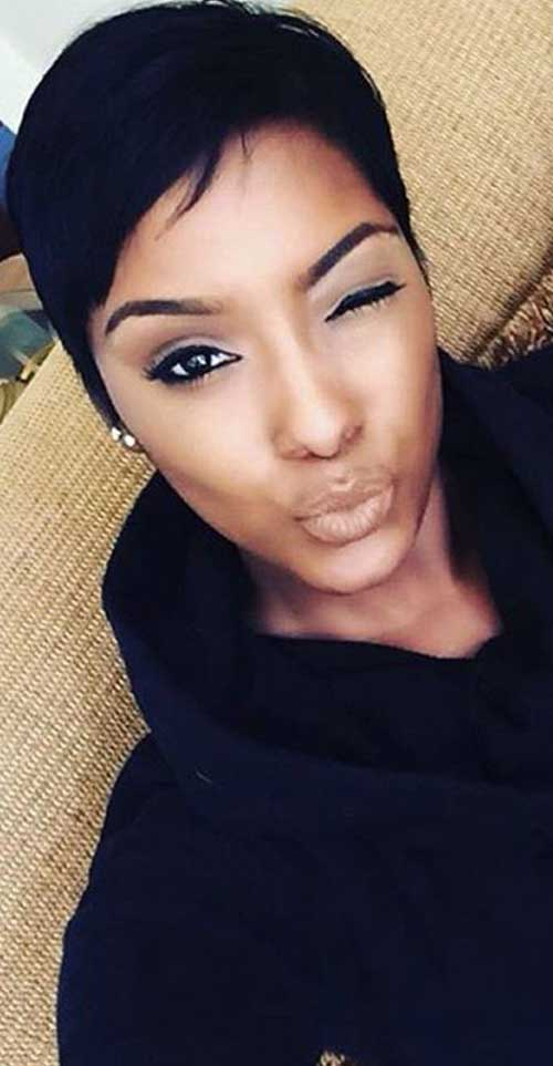 Swell Short Pixie Cuts For Black Hair 2016 Short Hair Fashions Short Hairstyles For Black Women Fulllsitofus
