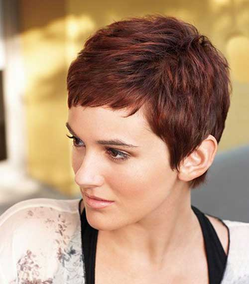 Short Pixie Hair Styles Ideas