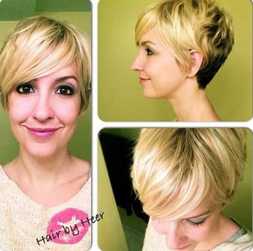 Straight Pixie Haircuts for Long Faces