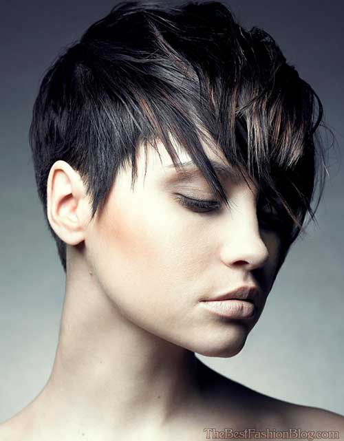 Stylish Shaggy Pixie Cuts
