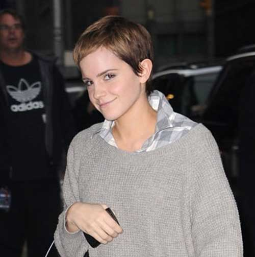 Stylish Short Pixie Cuts Emma Watson