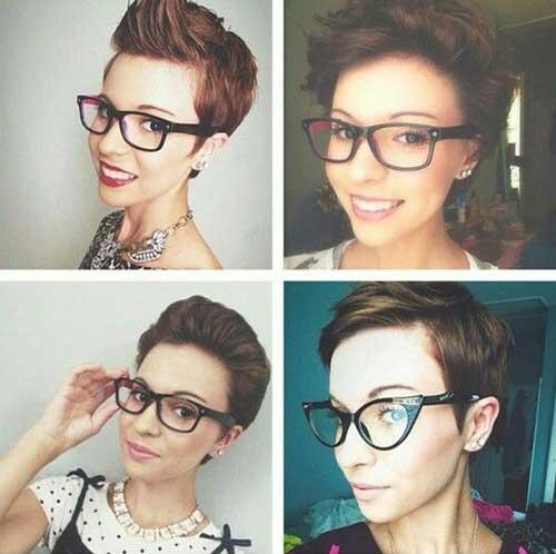 Trendy Short Hair Pixie Style