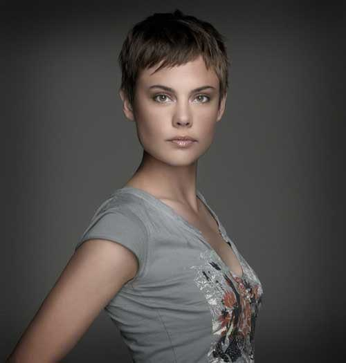 Very Short Pixie Haircut for Fine Hair Ideas