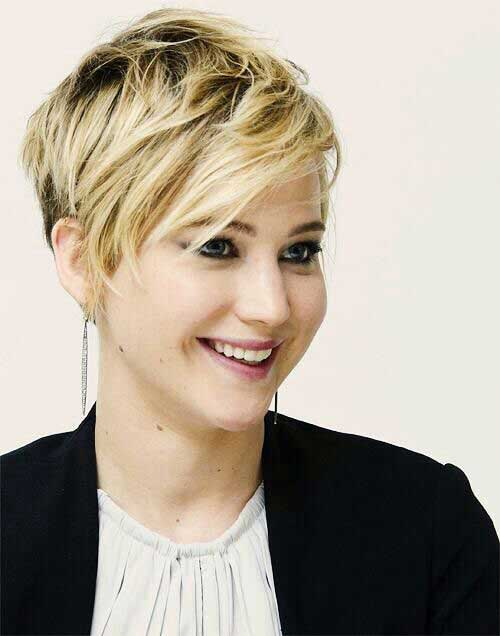 Wavy Long Pixie Hairstyles