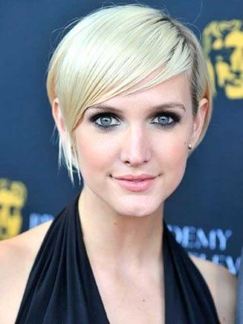 Best Ashlee Simpson Straight Hair Pixie Cut