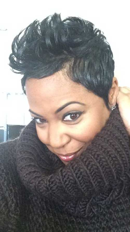 Black Girls Pixie Cut
