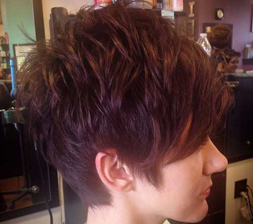Best Brown Pixie Cut