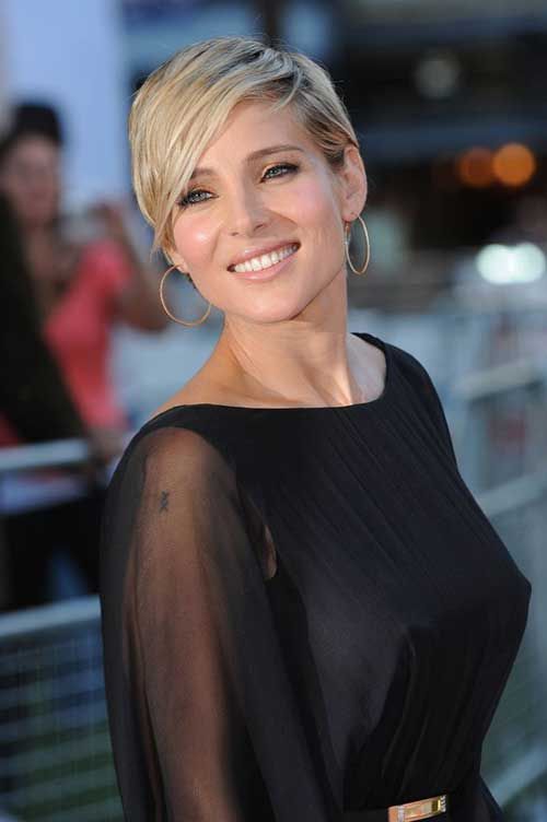 Best Chic Pixie Cut with Bangs