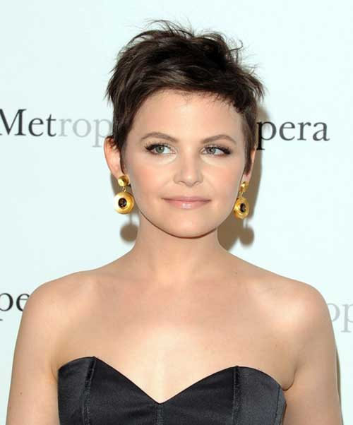 Ginnifer Goodwin Cute Cut Pixie Hair
