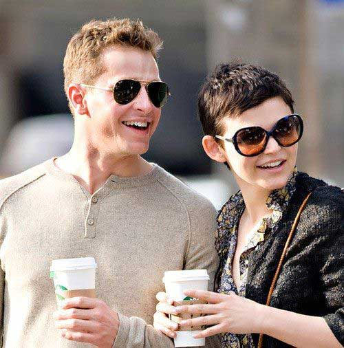 Ginnifer Goodwin Dark Pixie Hairstyles