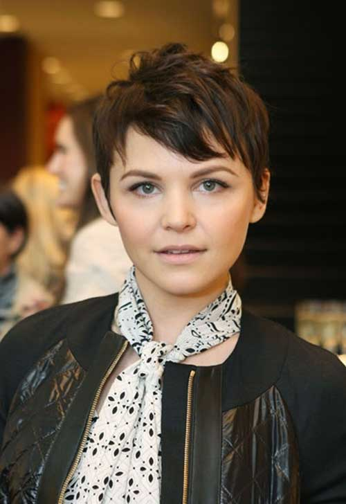 Ginnifer Goodwin Nice Pixie Hair