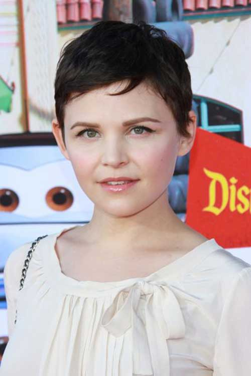 Ginnifer Goodwin Short Cut Pixie Pictures