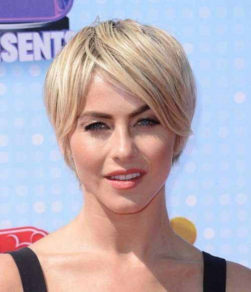 Julianne Hough Straight Hair Pixie Cuts