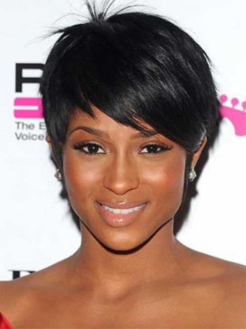 Nice Longer Pixie Cut