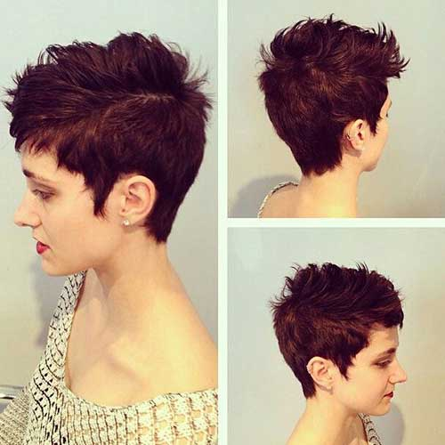 Best Messy Pixie Cut Hair Colors