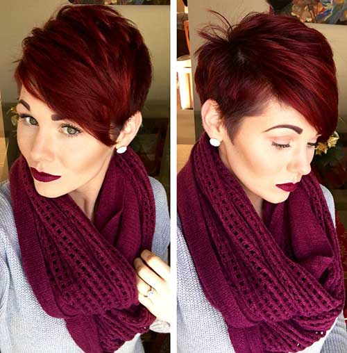 Best Pixie Cut Colors