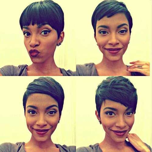 Best Pixie Cut for Black Girls