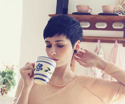 Best Pixie Cut with Bangs