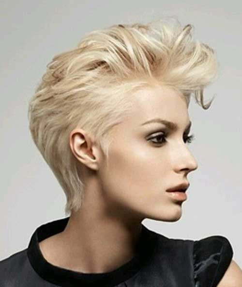 Pixie Haircut with Long Layers 2016
