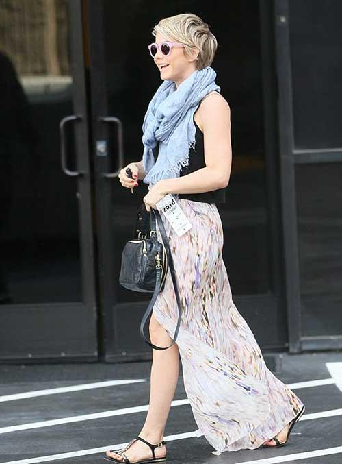 Street Style Julianne Hough Pixie Cuts