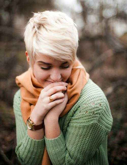 Best Very Short Edgy Pixie Hair Cuts