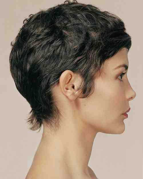 Back View Pictuers of Audrey Tautou