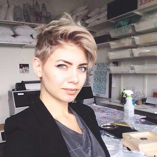 Best Blonde Pixie Cuts