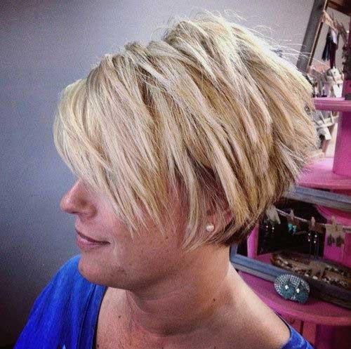 Best Blonde Pixie Bob Cut