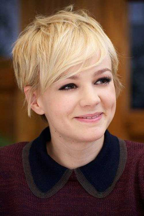 Celebrity Blonde Pixie Haircuts 2016