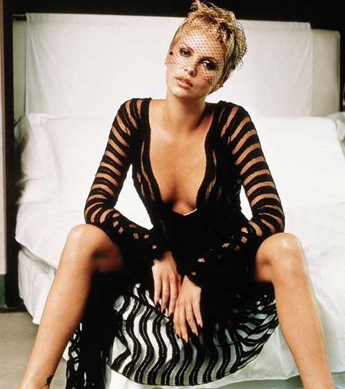 Charlize Theron Trendy Pixie Cuts Styles