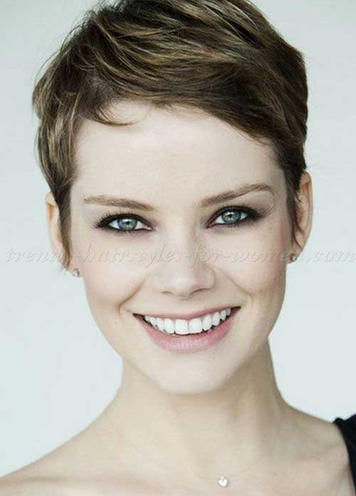 Short Cropped Pixie Cut