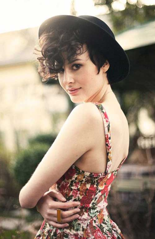 Best Cute Pixie Cut Curly Hair