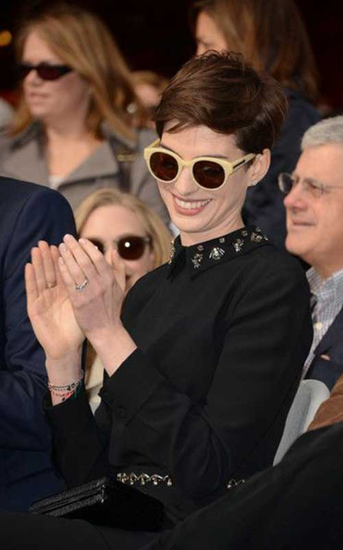 Cute Pixie Haircut Styles Anne Hathaway