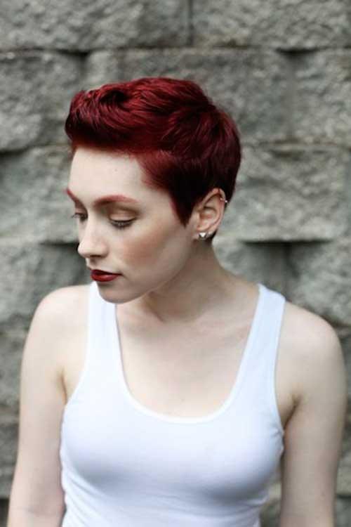 Peachy 20 Red Pixie Cuts Pixie Cut 2015 Short Hairstyles For Black Women Fulllsitofus
