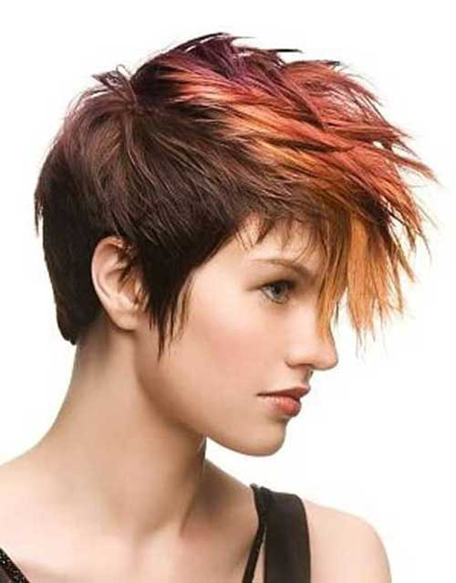 Best Different Colored Pixie Hairstyles