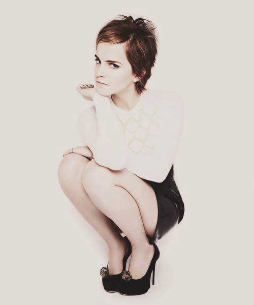 Emma Watson Cute Style Hair Pixie Cuts