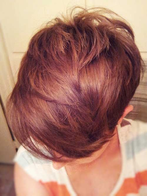 İntense Ginger Red Pixie Hair Color