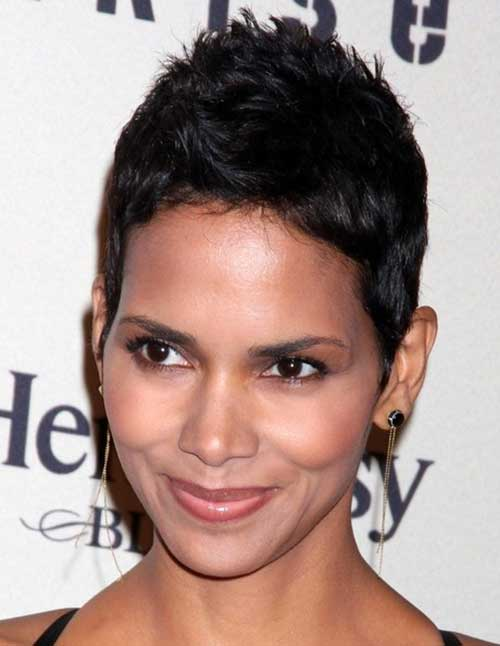 Halle Berry Best Pixie Cut Short Hair
