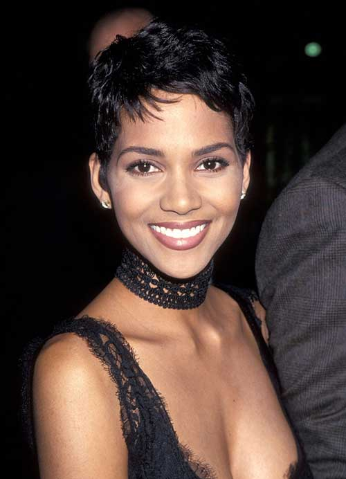 Halle Berry Style Pixie Cut Pictures
