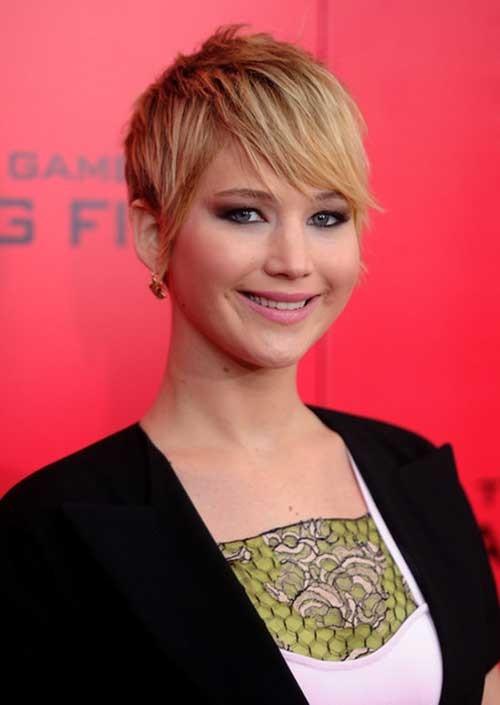 Jennifer Lawrence Haircut Pixie