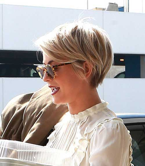 Julianne Hough Pixie Cut Styles 2016