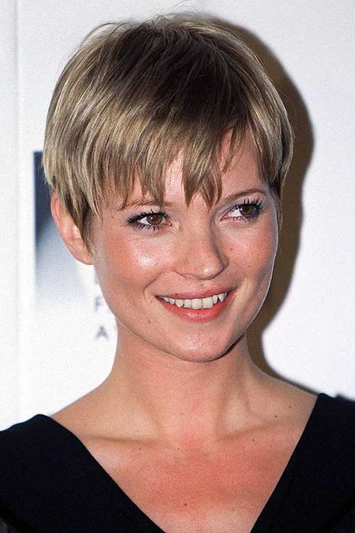 Kate Moss Pixie Cuts