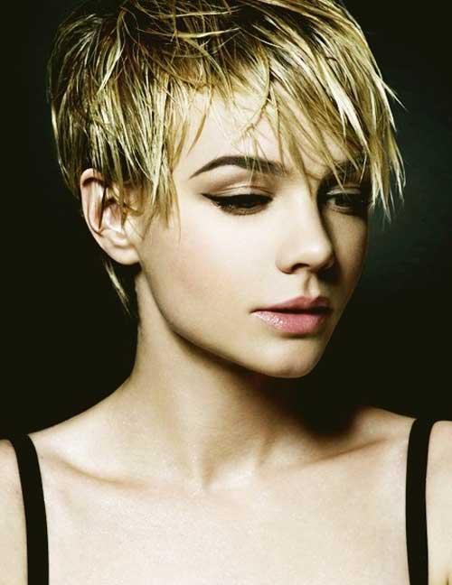 Best Long Layered Pixie Spiky Look Haircut