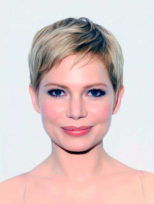 Best Michelle Williams Pixie Hair Styles