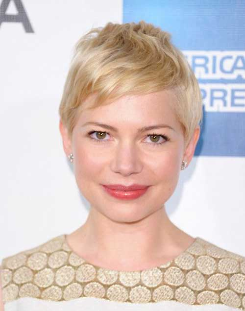 Michelle Williams Best Pixie Hairdo