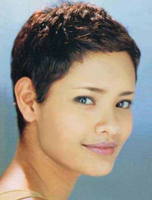 Natural Hair Cropped Pixie Cuts