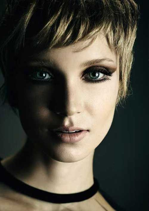 Best Nice Blonde Colored Pixie Hairstyles
