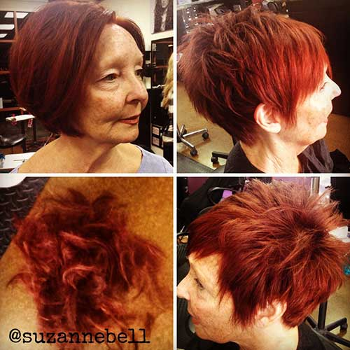 Nice Red Pixie