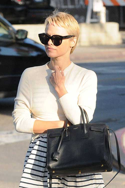 Pam anderson Pixie Cut