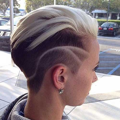 Pixie Different Shaved Cut 2015